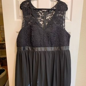 Torrid Black Lace Cocktail Dress